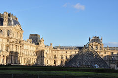 LOUVRE MUSEUM, PARIS, FRANCE Royalty Free Stock Photography