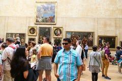 Paris, Louvre Museum Stock Image