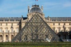 Paris - The Louvre Museum. Stock Images