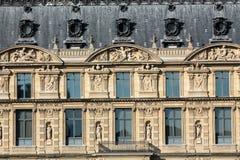 Paris - The Louvre Museum Stock Images