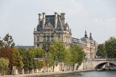 Paris - The Louvre Museum. Royalty Free Stock Photography