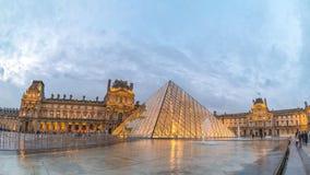 Paris Louvre Museum Time Lapse