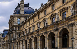 Paris Louvre. A nice view of Paris Louvre France royalty free stock photography