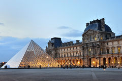 LOUVRE MUSEUM, PARIS, FRANCE Stock Image