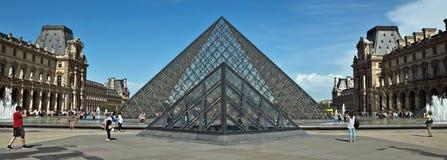 Paris - Louvre Pyramid Royalty Free Stock Image