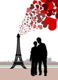 Paris in love Stock Photos