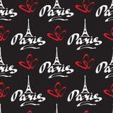 Paris love-07 stock illustrationer