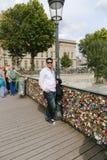 PARIS Love padlocks Royalty Free Stock Photo