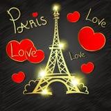 Paris Love romance Stock Images