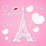Paris Love romance Stock Image