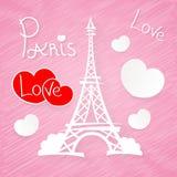 Paris Love romance Stock Photography