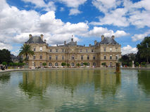 Paris Luxembourg Royalty Free Stock Photography