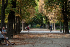 Paris - Luxembourg Gardens. Royalty Free Stock Image