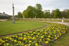 Paris Luxembourg Gardens Royalty Free Stock Photo
