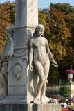 Paris - Luxembourg Gardens. Stock Photos
