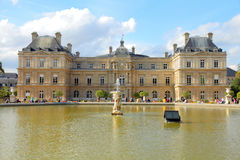 Paris - Luxembourg Palace royalty free stock photo