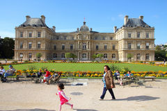 Paris - Luxembourg Palace Stock Photos