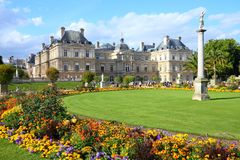 Paris - Luxembourg Palace Royalty Free Stock Image