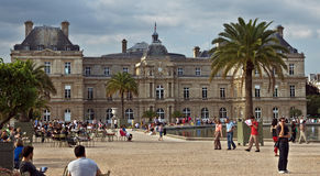 Paris - Luxembourg Palace Stock Images
