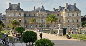 Paris - Luxembourg Palace Royalty Free Stock Images