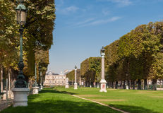 Paris, Luxembourg Palace. And gardens royalty free stock photography