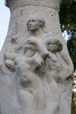 Paris - Luxembourg trädgårdar royaltyfri bild