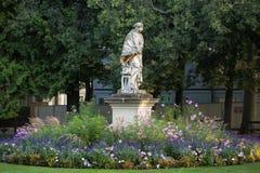 Paris - Luxembourg trädgårdar Arkivfoton