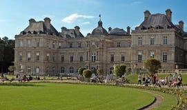Paris-- Luxemburg-Palast Stockfotos