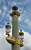 Paris lykta Royaltyfri Fotografi