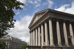 Paris - Madeleine church Stock Image