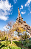 Paris, magnificence of Eiffel Tower Stock Photography