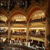 Paris mall shop shopping beautiful europe. Paris shopping mall Royalty Free Stock Images