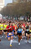 Paris Marathon 2009 Stock Photos