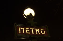 Paris Metro Royalty Free Stock Photos