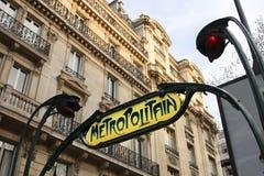 Paris Metro, France Royalty Free Stock Images
