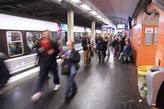 Paris Metro Royalty Free Stock Photography