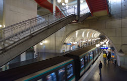Paris metro Stock Image