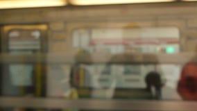Paris Metro Station stock footage