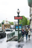 Paris metro Stock Photo