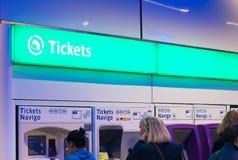 Paris metro tickets Royalty Free Stock Image