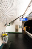 Paris Metro stock photography