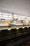 Paris Metro royalty free stock image