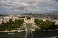 Paris miasta Zdjęcia Royalty Free