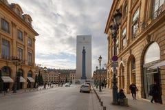 paris miejsca vendome Zdjęcie Royalty Free