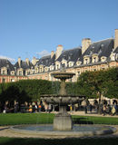 Paris miejsce des Vosges Fotografia Stock