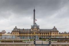 Paris. Military school. Stock Images