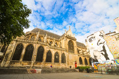 Paris between modern and traditional Royalty Free Stock Photos
