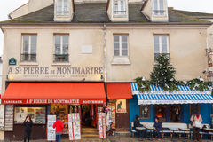 paris Montmartre Imagens de Stock