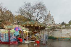paris Montmartre Royaltyfria Bilder