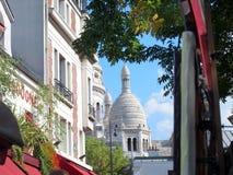 Paris - Montmartre. Basilic Montmartre in awesome Paris Royalty Free Stock Photos